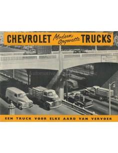 1948 CHEVROLET TRUCKS PROGRAMM PROSPEKT NIEDERLANDISCH