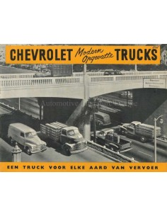 1948 CHEVROLET TRUCKS RANGE BROCHURE DUTCH