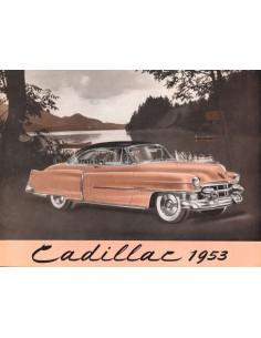 1953 CADILLAC SERIES 62 BROCHURE NEDERLANDS