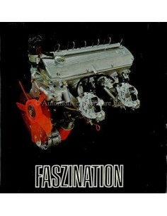 1968 BMW FASZINATION SIX-CYLINDER MODELS BROCHURE GERMAN