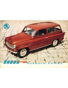 1962 SKODA OCTAVIA COMBI BROCHURE DUITS