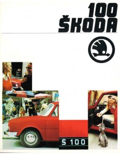 1970 SKODA 100 BROCHURE GERMAN
