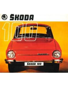 1970 SKODA 100 BROCHURE NEDERLANDS