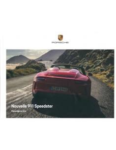2019 PORSCHE 911 SPEEDSTER HARDCOVER PROSPEKT FRANZÖSISCH