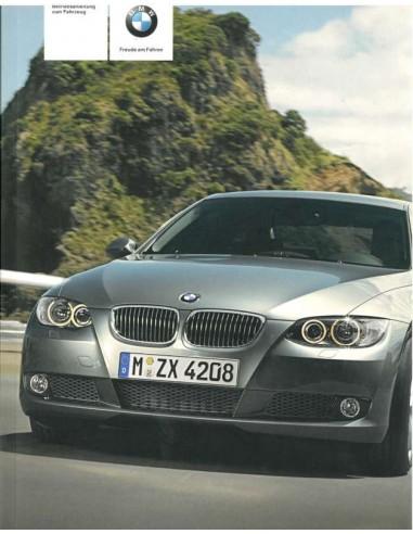2007 BMW 3 SERIE INSTRUCTIEBOEKJE DUITS