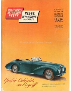 1948 AUTOMOBIL REVUE JAHRESKATALOG DEUTSCH FRANZÖSISCH