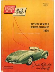 1949 AUTOMOBIL REVUE JAARBOEK DUITS FRANS