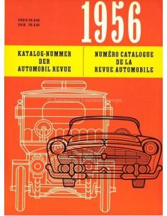 1956 AUTOMOBIL REVUE JAHRESKATALOG DEUTSCH FRANZÖSISCH