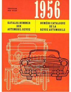 1956 AUTOMOBIL REVUE YEARBOOK GERMAN FRENCH