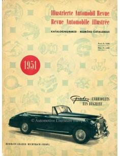 1951 AUTOMOBIL REVUE JAARBOEK DUITS FRANS