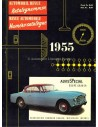 1955 AUTOMOBIL REVUE JAHRESKATALOG DEUTSCH FRANZÖSISCH
