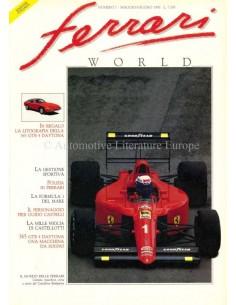 1990 FERRARI WORLD MAGAZINE 7 ITALIAN