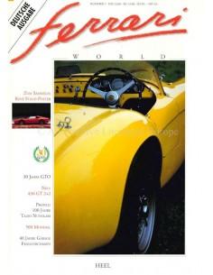 1992 FERRARI WORLD MAGAZINE 7 DUITS