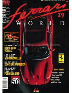 1997 FERRARI WORLD MAGAZINE 24 GERMAN
