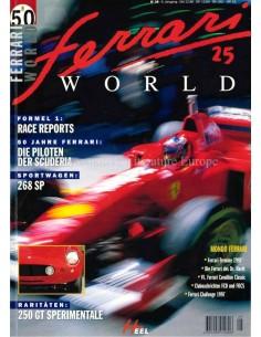 1997 FERRARI WORLD MAGAZINE 25 DUITS