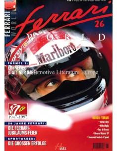 1997 FERRARI WORLD MAGAZINE 26 GERMAN