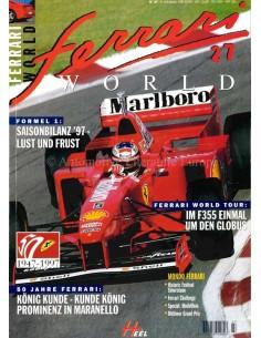 1997 FERRARI WORLD MAGAZINE 27 GERMAN