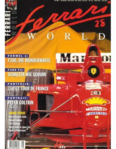 1998 FERRARI WORLD MAGAZIN 28 DEUTSCH