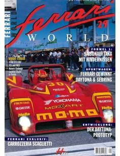 1998 FERRARI WORLD MAGAZINE 29 DUITS