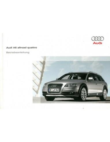 2008 AUDI A6 ALLROAD QUATTRO INSTRUCTIEBOEKJE DUITS