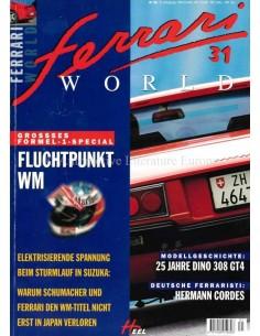 1998 FERRARI WORLD MAGAZINE 31 DUITS