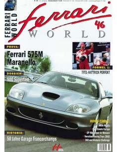 2002 FERRARI WORLD MAGAZIN 46 DEUTSCH
