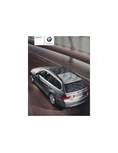 2006 BMW 3 TOURING BETRIEBSANLEITUNG DEUTSCH