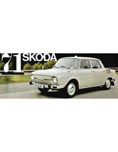 1971 SKODA 100 / 110 / 110R BROCHURE DUTCH
