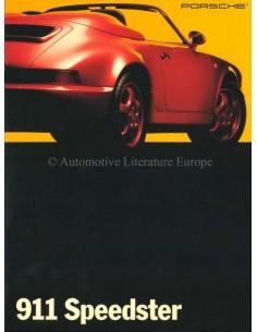 1993 PORSCHE 911 SPEEDSTER PROSPEKT ENGLISCH (KAN)