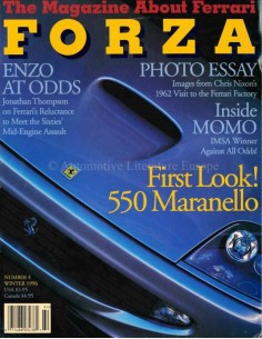 1996 FERRARI FORZA MAGAZINE 7 ENGELS