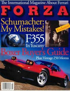 1998 FERRARI FORZA MAGAZINE 9 ENGLISH