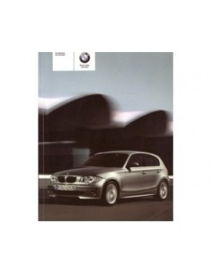 2006 BMW 1 SERIES OWNERS MANUAL HANDBOOK DUTCH