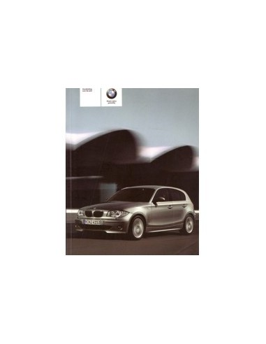 2006 BMW 1 SERIE INSTRUCTIEBOEKJE NEDERLANDS