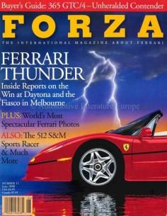 1998 FERRARI FORZA MAGAZINE 11 ENGLISH