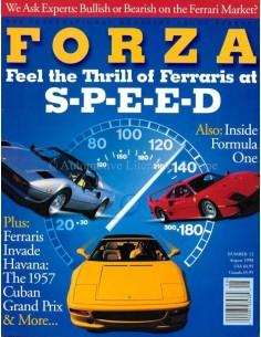 1998 FERRARI FORZA MAGAZINE 12 ENGLISH