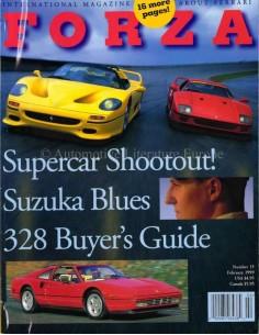 1999 FERRARI FORZA MAGAZIN 15 ENGLISCH