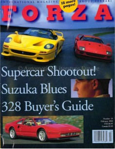 1999 FERRARI FORZA MAGAZINE 15 ENGLISH