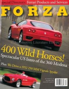 1999 FERRARI FORZA MAGAZINE 20 ENGLISH