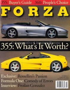 2000 FERRARI FORZA MAGAZINE 21 ENGLISH