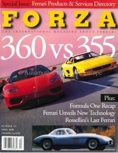 2000 FERRARI FORZA MAGAZINE 22 ENGELS