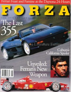 2000 FERRARI FORZA MAGAZINE 23 ENGLISH