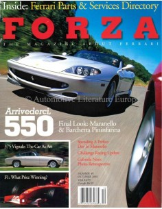 2002 FERRARI FORZA MAGAZINE 40 ENGLISH