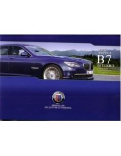 2009 BMW ALPINA B7 BITURBO BROCHURE GERMAN