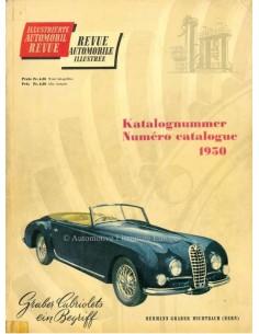1950 AUTOMOBIL REVUE JAARBOEK DUITS FRANS