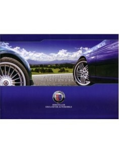 2009 BMW ALPINA RANGE BROCHURE GERMAN