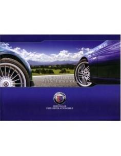 2009 BMW ALPINA PROGRAMM PROSPEKT DEUTSCH