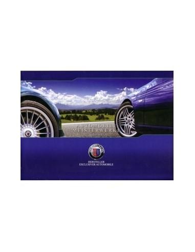 2009 BMW ALPINA PROGRAMMA BROCHURE DUITS