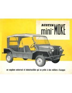 1966 AUSTIN MINI-MOKE PROSPEKT FRANZÖSISCH