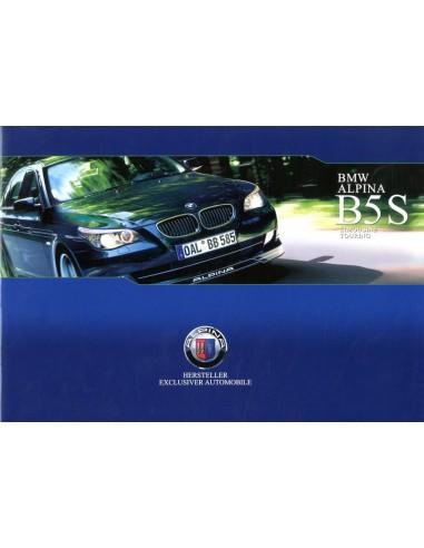 2007 BMW ALPINA B5 S BROCHURE DUITS