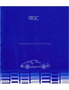 1982 PORSCHE 911 SC PROSPEKT ENGLISCH (USA)